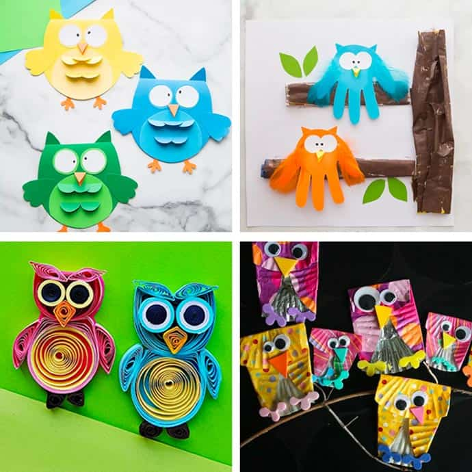 Cute Owl Craft For Kids 9-12.