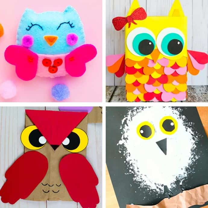 Cute Owl Craft For Kids 13-16.
