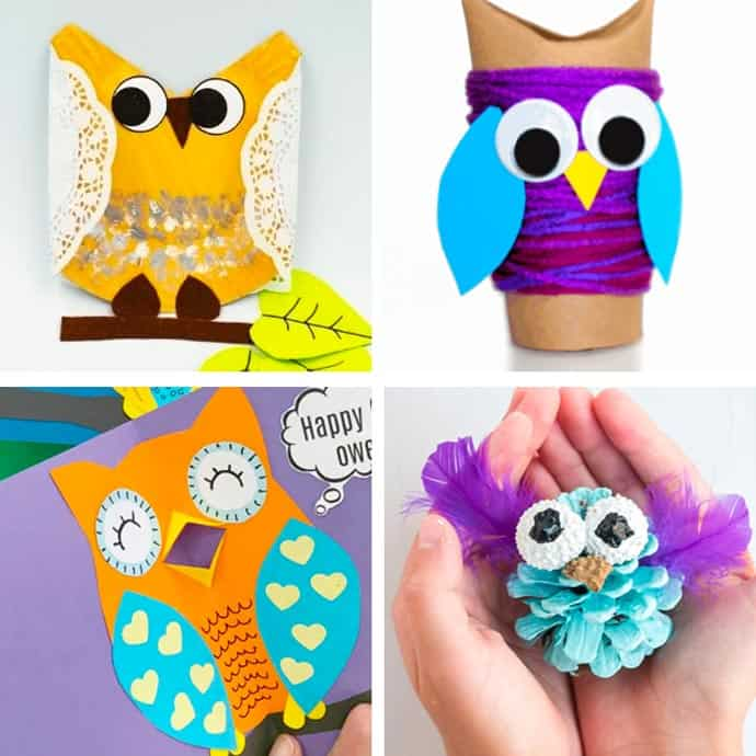 Cute Owl Craft For Kids 17-20.