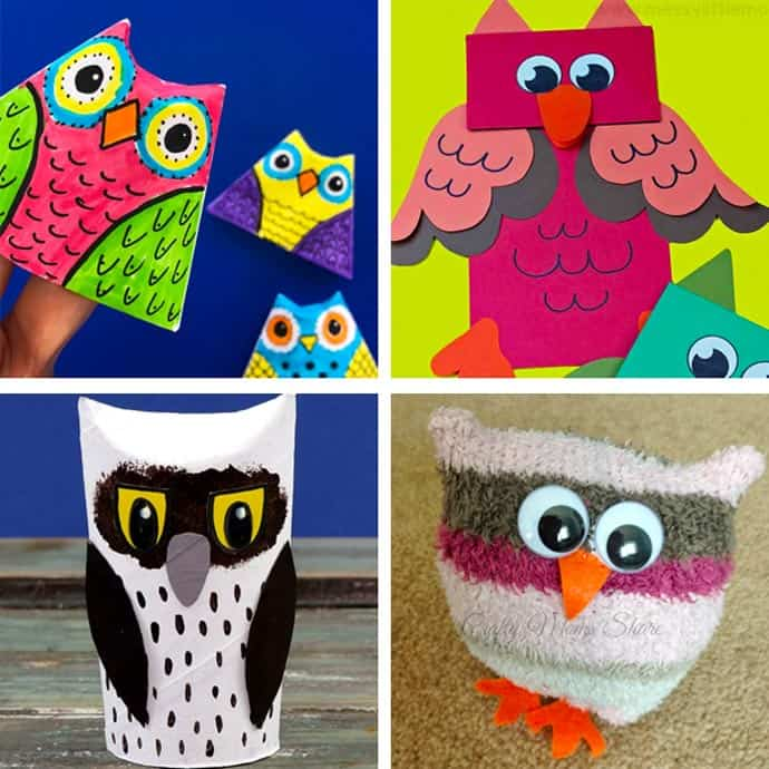 Cute Owl Craft For Kids 21-24.