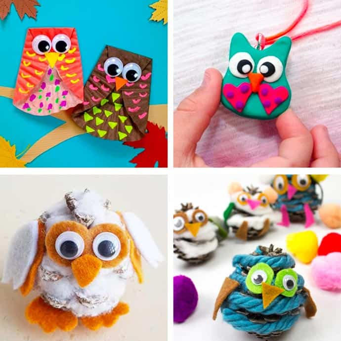 Cute Owl Craft For Kids 25-28.