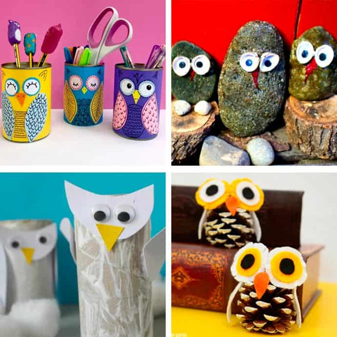 Cute Owl Craft For Kids 29-32.
