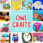 Cute Owl Crafts For Kids