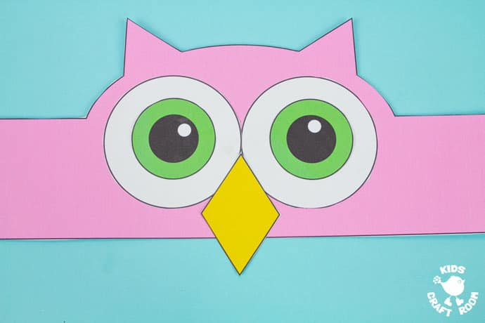 Owl Hat Craft step 5.