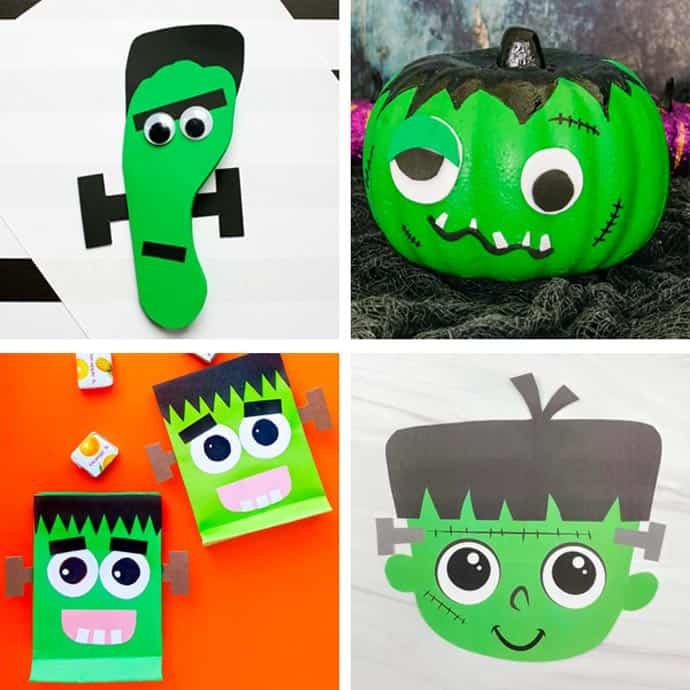 Fun Frankenstein Craft Ideas For Kids 5 - 8.