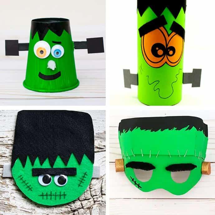 Fun Frankenstein Craft Ideas For Kids 9-12.