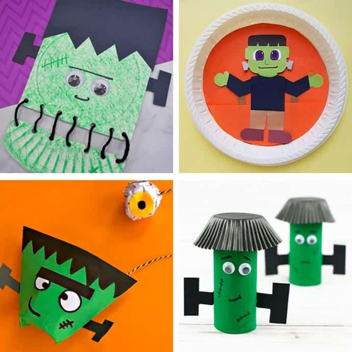 Fun Frankenstein Craft Ideas For Kids 13-16.