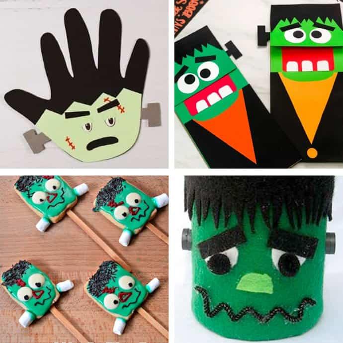 Fun Frankenstein Craft Ideas For Kids 17-20.