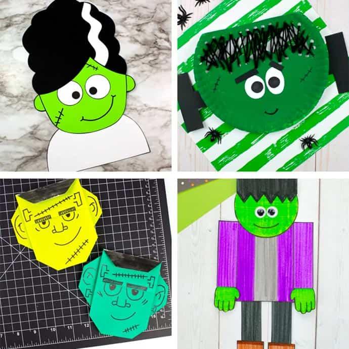 Fun Frankenstein Craft Ideas For Kids 21-24.