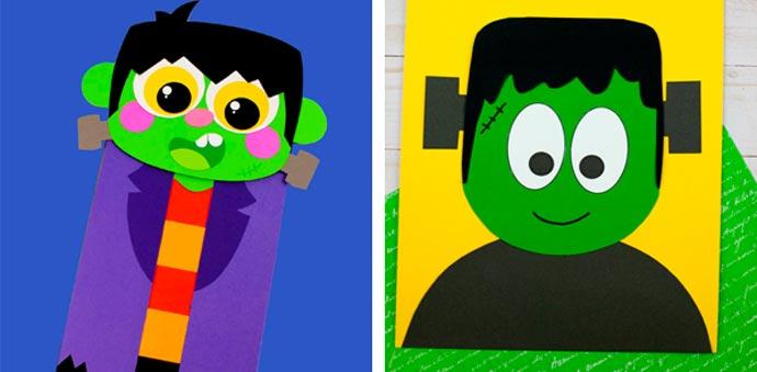 Fun Frankenstein Craft Ideas For Kids 25-26.