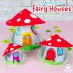Mushroom Fairy House Craft